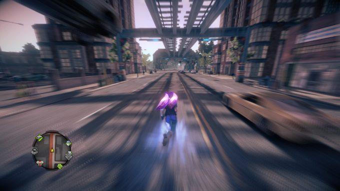 超高速で走れる