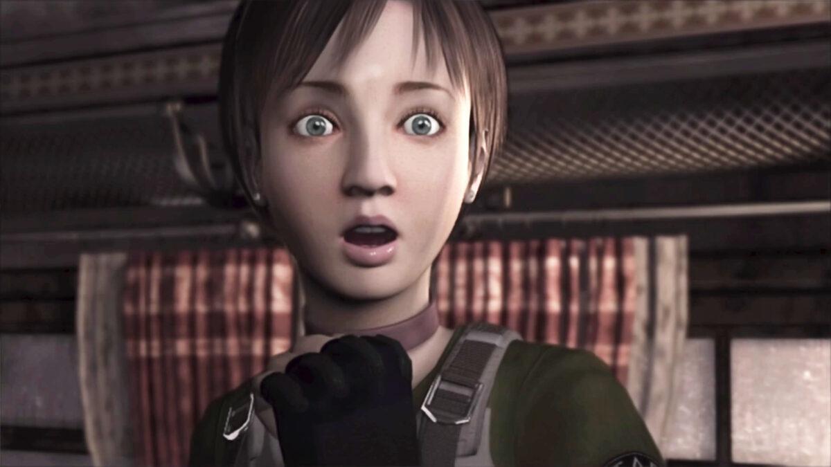 レベッカの驚嘆顔
